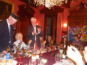 a special birthday celebration at chateau de bois giraud